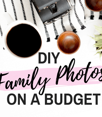 DIY Family Portraits on a Budget