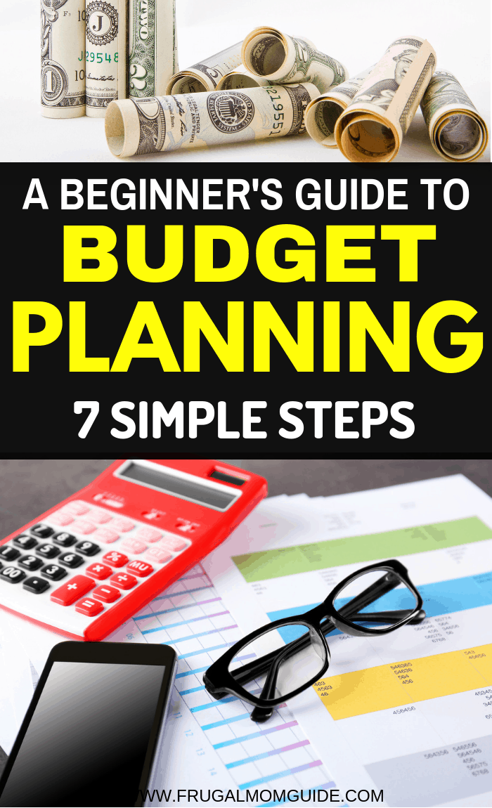 Want to master budgeting finances? Step 1 is learning how to make a fail-proof beginner budget plan? These 7 actionable steps will help you create an easy budget plan. beginner budget, budgeting tips, budget plan simple, how to make a budget plan, budgeting for beginners, budget for beginners, budgeting finances, budget planner, budget printables, saving money, financial planning, budgeting finances printables free #budgetplan #budgeting #beginnerbudget #budgetingtips #budgetingforbeginners