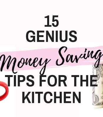 frugal kitchen hacks feature image