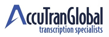 AccuTranGlobal Logo - best transcription companies that hire beginners