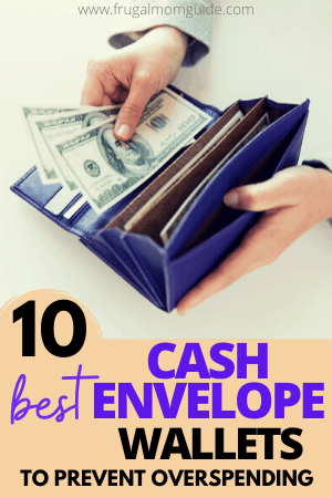 best cash envelope wallet pin