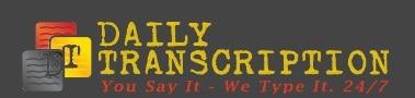 Daily Transcription logo - best transcription companies that hire beginners