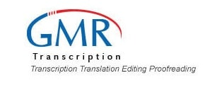 GMR Transcription Logo - best transcription companies that hire beginners