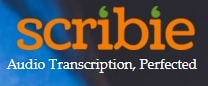 scribie logo - best transcription companies that hire beginners