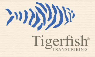 Tigerfish logo - best transcription companies that hire beginners