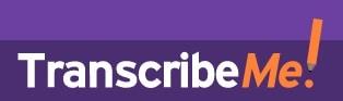 TranscribeMe logo - best transcription companies that hire beginners