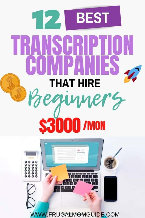 12 Best Transcription Companies that Hire Beginners