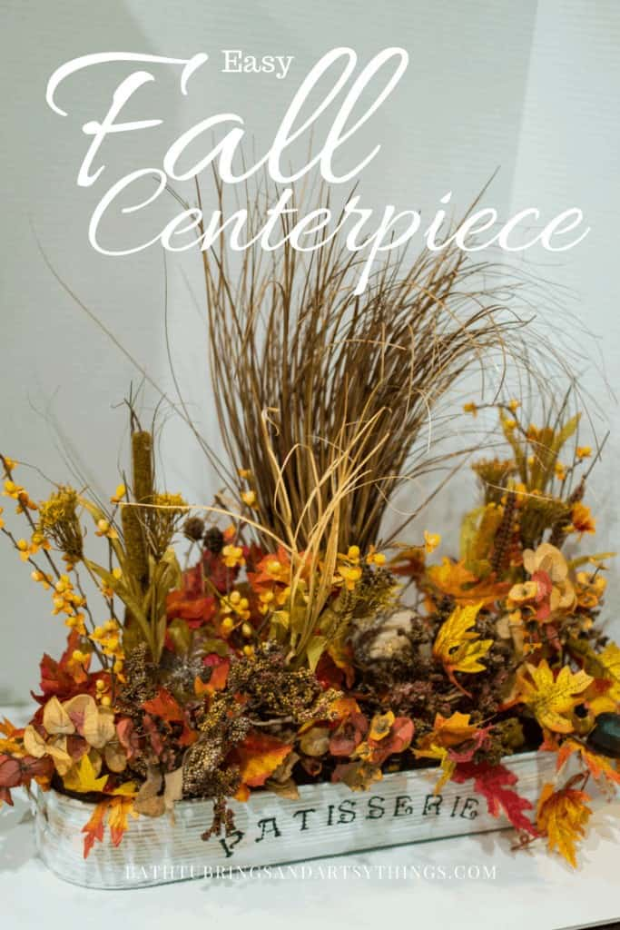 DIY Fall Decor Projects - Easy Fall Centerpiece