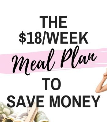 Cheap Grocery List and budget Meal Plan Feature
