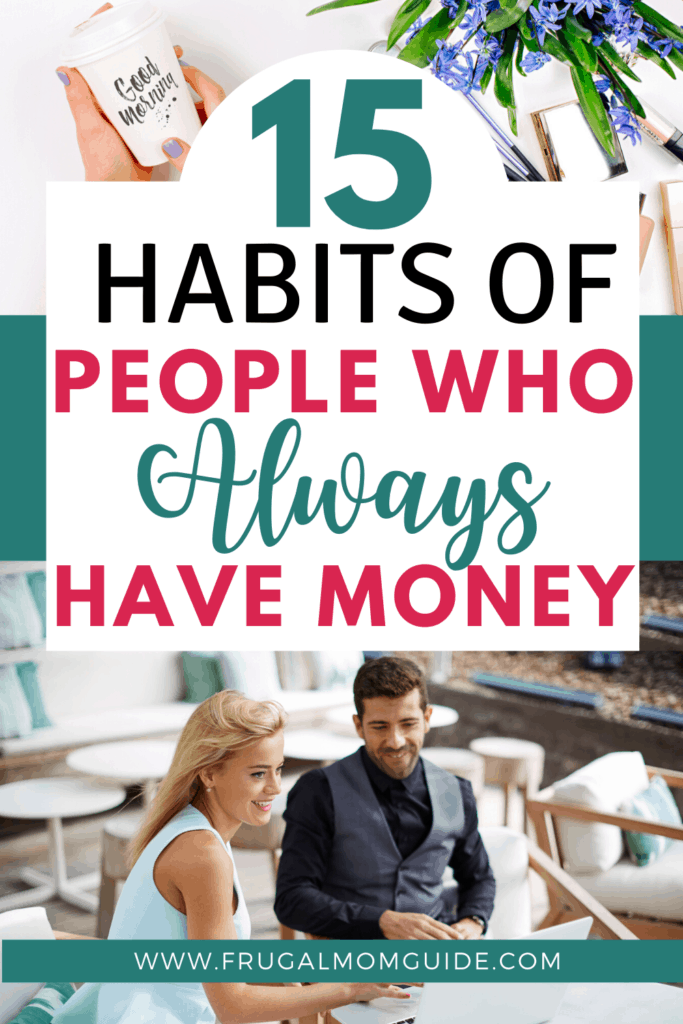 habits of people who always have money pin