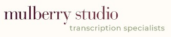 mulberry studio logo - freelance proofreading jobs from home