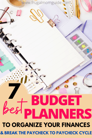 best budget planners pin